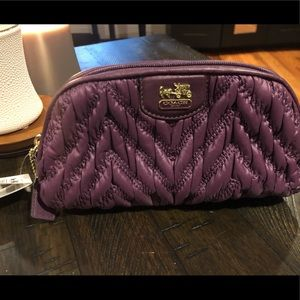 NWT Coach cosmetic bag